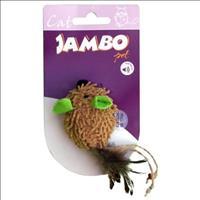 Brinquedo Jambo Rato Chip Sound Orelha - Verde