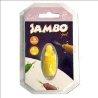 Brinquedo Jambo Rato Moving Luz - Amarelo