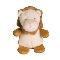 Brinquedo Jambo Mordedor Pelúcia Leãozinho Zoo - Marrom