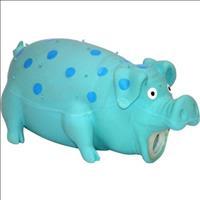 Brinquedo Jambo Porco de Látex - Azul