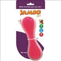 Brinquedo Jambo Osso Nylon e Trp - Rosa