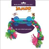 Brinquedo Jambo Tpr Osso Corda - Azul