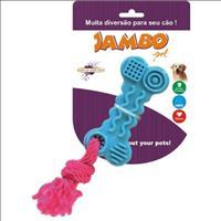 Brinquedo Jambo Tpr Ossinho - Azul