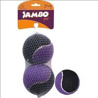 Brinquedo Jambo Bola de Tênis Sound com 2 Unidades - Média