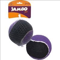 Brinquedo Jambo Bola de Tênis Sound com 1 Unidade - Grande