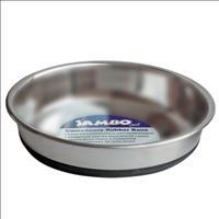 Comedouro Jambo de Aço Inoxidável e Base Antiderrapante para Cães e Gatos Comedouro Jambo de Aço Ino