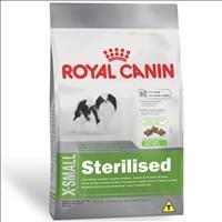 Ração Royal Canin X-Small Sterilised para Cães Adultos de Raças Miniaturas com 10 Meses ou Mais Raçã