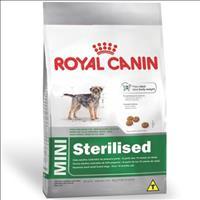 Ração Royal Canin Mini Sterilised para Cães Adultos de Raças Pequenas com 10 Meses ou Mais de Idade