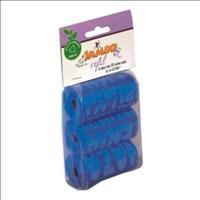 Refíl Jambo de Saquinhos para Coletar Fezes Bio Grafiti com 3 Rolos de 20 Sacos - Azul
