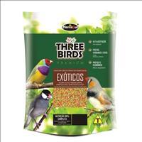 Ração Hercosul Three Birds Premium para Pássaros Exóticos Adultos - 300gr