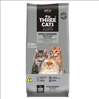Ração Hercosul ThreeCats Especial Salmão e Frango para Gatos Castrados - 8kg
