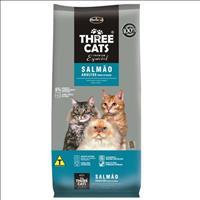 Ração Hercosul ThreeCats Especial Salmão para Gatos Adultos - 8kg