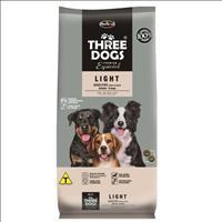 Ração Hercosul ThreeDogs Especial Light Salmão e Frango para Adultos de Todas as Raças - 8kg