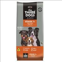 Ração Hercosul ThreeDogs Especial Senior 7+ para Cães de Todas as Raças com 7 Anos ou Mais de Idade