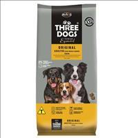Ração Hercosul ThreeDogs Especial Original Carne para Adultos de Raças Médias e Grandes - 20kg