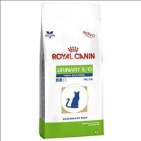 Ração Royal Canin Feline Veterinary Diet Urinary S/O High Dilution para Gatos com Cálculos Urinários