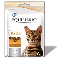 Biscoito Total Equilíbrio Snack Cat Light para Gatos Adultos - 40gr