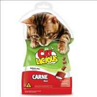 Petisco Total Cat Licious Carne - 40gr