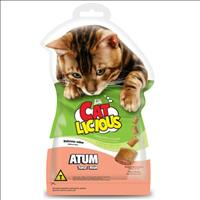 Petisco Total Cat Licious Atum - 40gr