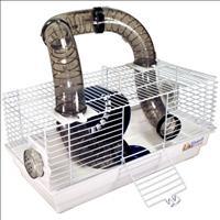 Gaiola Bragança Tubo Divertido para Hamster