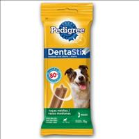 Petisco Pedigree Dentastix para Raças Médias 3 Sticks - 75 g
