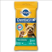 Petisco Pedigree Dentastix para Raças Pequenas 3 Sticks - 45 g