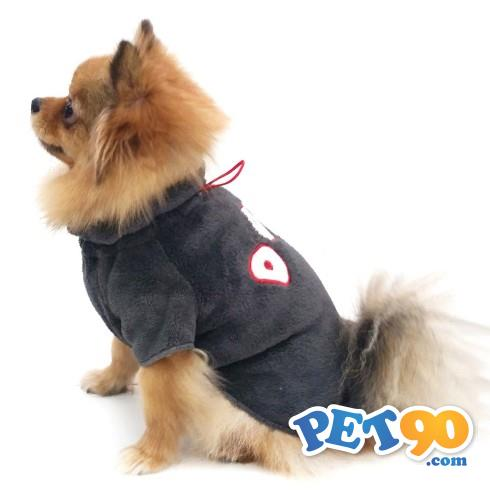 Pulôver Fleece Dog Pickorruchos - Grafite Pulôver Fleece Dog Pickorruchos Grafite - Tam 03