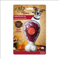 Brinquedo Afp Pet com Aroma de Coxa de Frango Grilled Chicken Leg - Frango