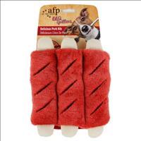 Brinquedo Afp Pet Costelinhas de Porco em Pelúcia BBQ Delicious Pork Rib - Pequeno