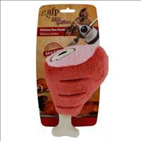 Brinquedo Afp Pet Pernil de Presunto em Pelúcia BBQ Delicious Ham Shank - Pequeno
