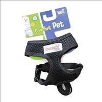 Guia e Peitoral American Pets Confort - Preto Guia e Peitoral American Pets Confort Preto - Tam XXG