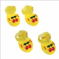 Sandália para Cães Chalesco - Amarelo Sandália para Cães Chalesco Amarelo - Tam 4
