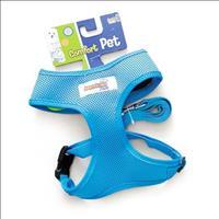 Guia e Peitoral American Pets Confort - Azul Guia e Peitoral American Pets Confort Azul - Tam P