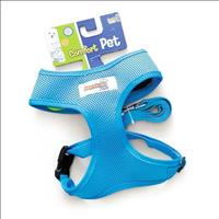 Guia e Peitoral American Pets Confort - Azul Guia e Peitoral American Pets Confort Azul - Tam XG