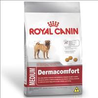 Ração Royal Canin Medium Dermacomfort para Cães Adultos ou Idosos de Raças Médias Ração Royal Canin
