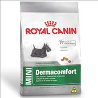 Ração Royal Canin Mini Dermacomfort para Cães  Adultos ou Idosos de Raças Pequenas Ração Royal Canin