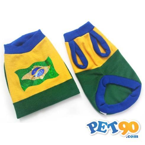 Roupa Pickorruchos Brasil - Tam 11