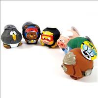 Brinquedo Duki Bola de Vinyl Super Resistente - Porquinho Cozinheiro