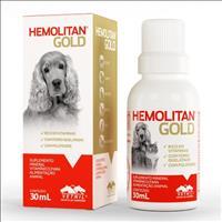 Suplemento Vetnil Hemolitan Gold Gotas - 30ml