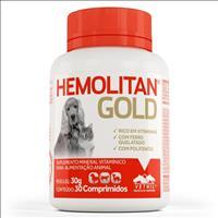 Suplemento Vetnil Hemolitan Gold Comprimido - 30gr