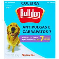 Coleira Anti Pulgas e Carrapatos Coveli Bulldog 7 para Cães