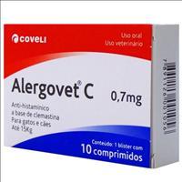 Antialérgico Coveli Alergovet C - 0,7mg