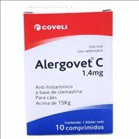 Antialérgico Coveli Alergovet C - 1,4mg