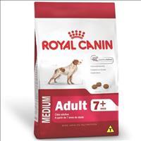 Ração Royal Canin Medium Adult 7+ para Cães Adultos de Raças Médias  com 7 Anos ou mais - 15 Kg