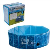 Piscina para Cães Afp Chill Out Splash And Fun Dog Pool Pequena - 160 Litros