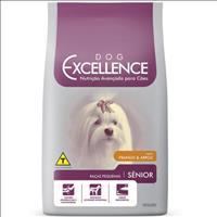 Ração Dog Excellence para Cães Idosos de Raças Pequenas -  Frango e Arroz  1,5 Kg
