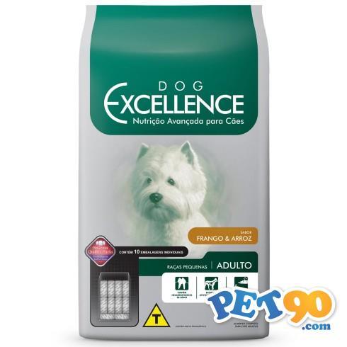 Ração Selecta Dog Excellence para Cães Adultos de Raças Pequenas - Frango e Arroz 10,1 Kg