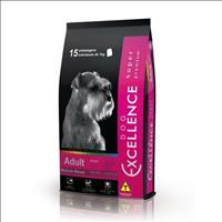 Ração Selecta Dog Excellence Super Premium para Cães Adultos de Raças Médias - Arroz e Frango -15 Kg