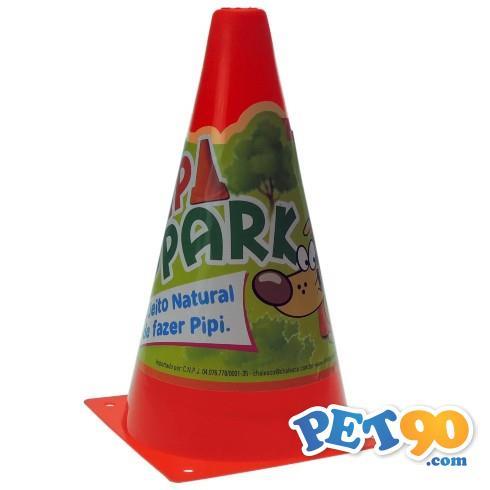 Postinho Chalesco Pipi Park Educador Sanitário - Vermelho