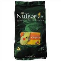Ração Nutrópica à Base de Mel e Ovos para Calopsitas - 5kg
